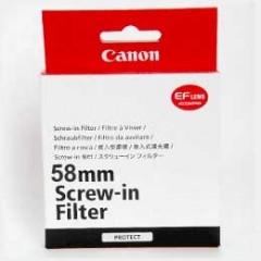 佳能/Canon 原厂 58mm 保护镜 行货机打发票