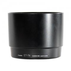 佳能/Canon ET-74遮光罩 (适用:EF70-200/4L;EF70-200/4L IS镜头 ) 行货机打发票 可开具增值税专用发票