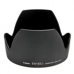 佳能/Canon EW-83J遮光罩(适用:EF-S 17-55/2.8 IS USM 镜头) 行货机打发票 可开具增值税专用发票