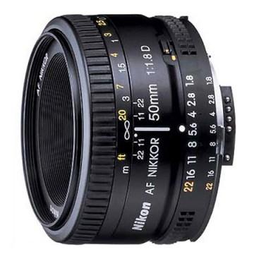 尼康/Nikkor AF 50mm f/1.8D [50/1.8] 镜头 行货机打发票