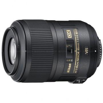 尼康/Nikkor AF-S DX 85mm f/3.5G ED VR [85/3.5]微距镜头 行货机打发票 可开具增值税专用发票