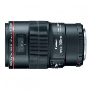 佳能/Canon EF 100mm f/2.8L IS USM 微距 [100/2.8] 镜头.67(新百微)行货机打发票