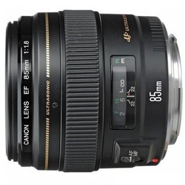 佳能/Canon EF 85mm f/1.8 USM [85/1.8]镜头.58 行货机打发票