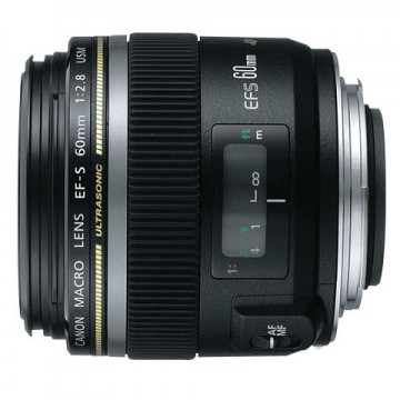佳能/Canon EF-S 60mm f/2.8 微距 [60/2.8]  镜头套装 行货机打发票