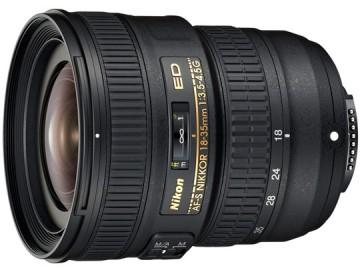 尼康/Nikkor AF-S 18-35mm f/3.5-4.5G ED 镜头 [新银广角]行货机打发票 可开具增值税专用发票