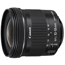 佳能/Canon EF-S 10-18mm f/4.5-5.6 IS STM 镜头套装 行货机打发票 可开具增值税专用发票