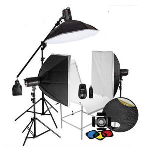 金贝摄影灯SPARKII-400W*3闪灯摄台套装 适合饰品静物等多功能拍摄