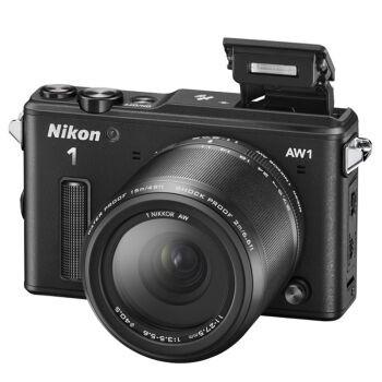 尼康/Nikon  AW1(VR11-27.5)可换镜数码套机 行货机打发票 可开具增值税专用发票