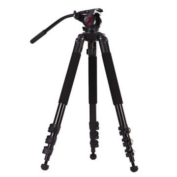 米泊/miliboo MTT702A摄像机三脚架新闻摄影专业大脚架 带液压云台