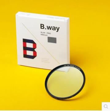 英国兰道/B.way PRO-MRC 多层镀膜 铜圈UV镜 82mm 行货机打发票 可开具增值税专用发票