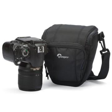 乐摄宝/Lowepro Toploader Zoom 45 AW II 防雨单反相机包 三角摄影包 黑色/蓝色行货机打发票 可开具增值税专用发票
