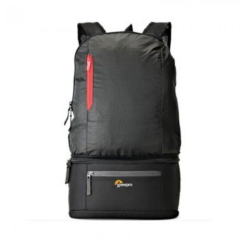 乐摄宝/Lowepro Passport Duo 多功能摄影包 可拆单肩摄影包 腰包 双肩相机包 黑色 行货机打发票 可开具增值税专用发票