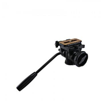金钟/Velbon FHD-66A液压云台单反相机摄影摄像三脚架独脚架阻尼三维云台  行货机打发票 可开具增值税专用发票