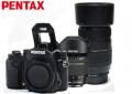 宾得/PENTAX  KP 新品复古单反相机 宾得KP 含18-55/腾龙70-300黑色套装 官方标配