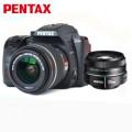 宾得(PENTAX)K-70 单反相机 三防机身 wifi功能 宾得K70 (DAL18-55/DA50)套装 黑色