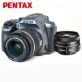 宾得(PENTAX)K-70 单反相机 三防机身 wifi功能 宾得K70 (DAL18-55/DA50)套装 银色