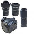宾得(PENTAX)645Z 120中画幅数码单反相机 含33-55/55-110/150-300镜头套装 官方标配
