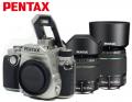 宾得/PENTAX   KP 新品复古单反相机 宾得KP 含DA18-55/DA50-200银色套装 官方标配