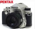 宾得/PENTAX  KP 新品复古单反相机 宾得KP 含DA50mmF1.8银色套装 官方标配