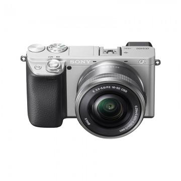 索尼/SONY ILCE-6400/16-50 APS-C画幅微单 数码相机 6400黑色/银色套机 行货机打发票 可开具增值税专用发票