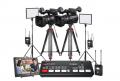 索尼/SONY HXR-NX100 手持式存储卡摄录一体机 专业摄像机 两机位直播设备套装