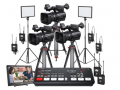 索尼/SONY HXR-NX100 手持式存储卡摄录一体机 专业摄像机 三机位直播设备套装