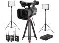 索尼/SONY HXR-NX100 手持式存储卡摄录一体机 专业摄像机 单机位直播设备套装
